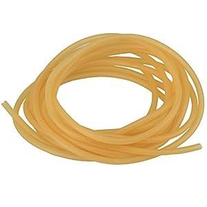 Wode - Tubo di gomma molto elastico, 1m, per fionda/catapulta, in lattice naturale