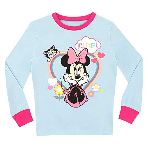 Disney Pijamas para niñas Minnie Mouse Ajuste Ceñido