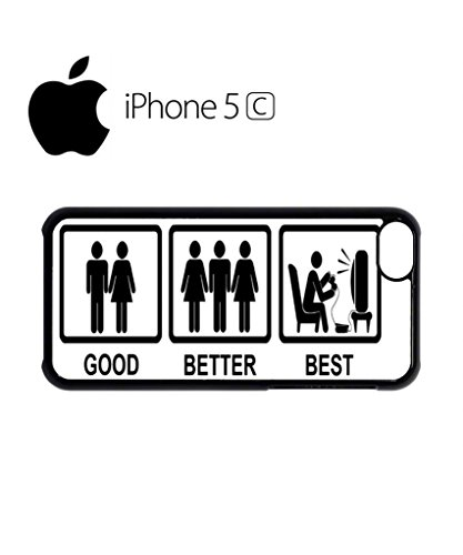 Good Better Best Game Console Mobile Cell Phone Case Cover iPhone 5c Black Schwarz