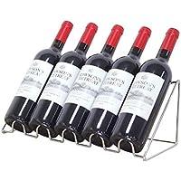 LOSKDMMJIO Wein-Rack-Wein-Rack-Wein-Display-Stand Wine Rack