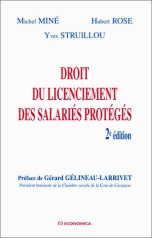 Droit du licenciement des salaris protgs