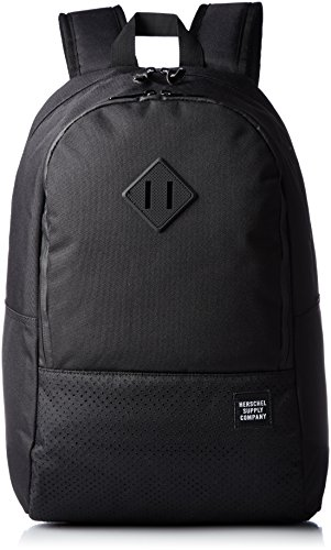 mochila-hershel-supply-co-nelson-aspect-en-tejido-negro