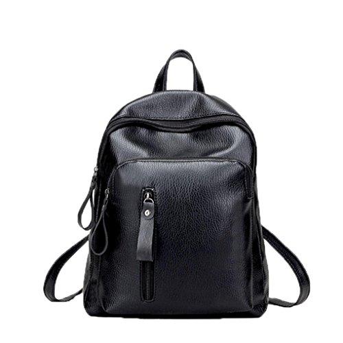 Imagen de  de mujer switchali mujeres estudiante casual bolso de escuela moda pu cuero  bolsas de viaje pequeña   escuela libro bolso de hombro de mujer baratos alternativa