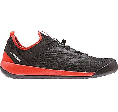 adidas Terrex Swift Solo, Scarpe Sportive Outdoor Uomo Nero (Core Black/core Black/energy)