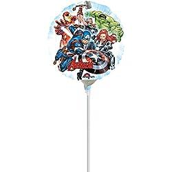 Globo pequeño aluminio Avengers 23 cm