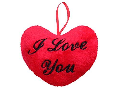 Cuscino decorativo peluche a forma di un grande cuore xxl con scritta i love you divano morbido confortevole decorazione idea regalo romantico san valentino amore i love you 10cm 63/2113