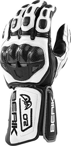 BERIK G-10488-BK Handschuh schwarz/weiss L