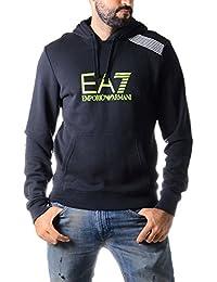 Sweat � capuche Emporio Armani EA7 7 Colours Line pour homme en noir