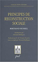 Principes de reconstruction sociale