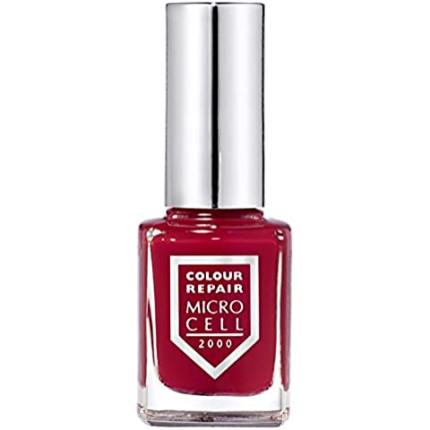 Micro Cell 2000 esmalte de uñas, Devils Fire 34125, fuego rojo, Colour Repair, 11 ml