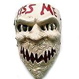 SJZC Maske Halloween Cosplay Teufel Masken Harz Erwachsene Prop Lustig Kind Spielzeug