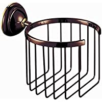 SSBY Modern Slat Toilet / Tissue Paper Holder, Brass Oil Rubbed Bronze Finish Bathroom Accessory