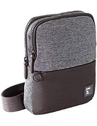 9ef3175493 NAVA Borsa tracolla porta iPad mini grigio scuro