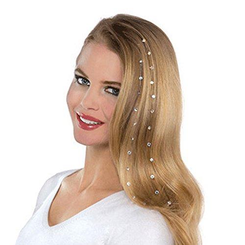 8pcs Tiara de Pelo Accasorio de Cabellos Bling Cristalino para Novia Fiesta Boda
