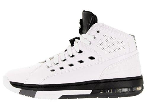 Ol Scuola Mens di stile: 317223-104 Taglia: 8 M Us White/Metallic Silver/Black/Cool Grey