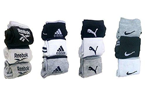 Easy4Buy Men's Cotton Combo Of 12 Pair Ankle Socks With 3Pair Sports Socks (Shsbadl_10)
