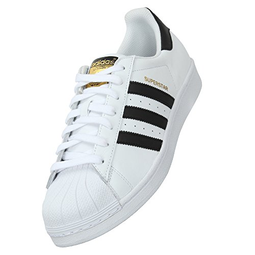 Adi White Black Superstar Original Sneakers For Mens (10.5)  available at amazon for Rs.2299
