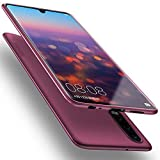 X-level für Huawei P30 Hülle, [Guardian Serie] Soft Flex Silikon Premium TPU Echtes Telefongefühl Handyhülle Schutzhülle Kompatibel mit Huawei P30 6,1 Zoll Case Cover - Weinrot