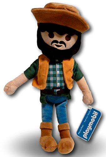 Playmobil Giocattolo Buttero Peluche 30cm Cowboy Figure Personaggio Mascotte Gioco Orsacchiotto Bambola Bambini Straordinaria Qualità
