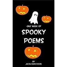 One Week of Spooky Poems (One Week of Poems Book 6)