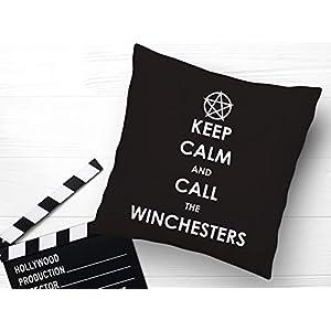 Kissen mit Print Supernatural Keep Calm