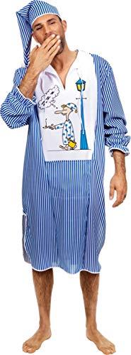 Wilbers Federbein Herren EU 54/UK und US 44Schlafwandler Kostüm