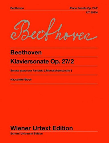 BEETHOVEN - Sonata Op. 27 nº 2 en Do Sost. menor