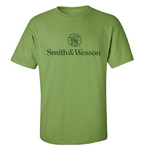 smith-wesson-t-shirt-da-uomo-con-logo-colore-verde-kiwi