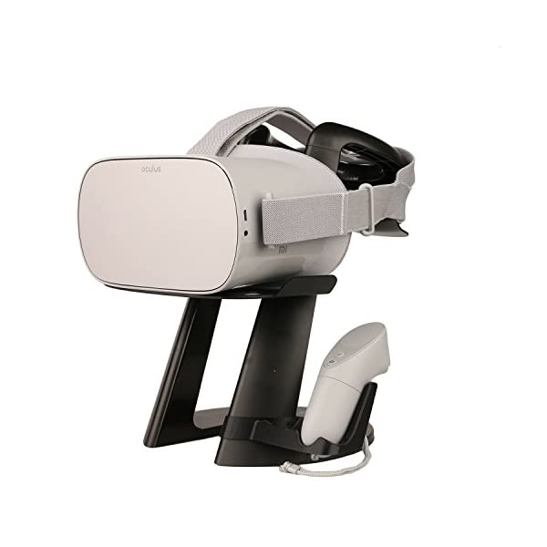 stasmart vr stand -virtual reality 3d glass headset display holder, vr headset station for oculus go headset AMVR VR Stand -Virtual Reality 3D Glass Headset Display Holder, VR Headset Station for Oculus Go Headset 414ATTCQJjL