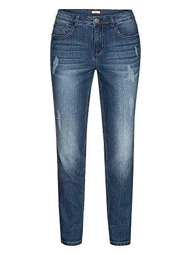 Joe Browns Donne Boyfriend Jeans taglie grandi blu 56