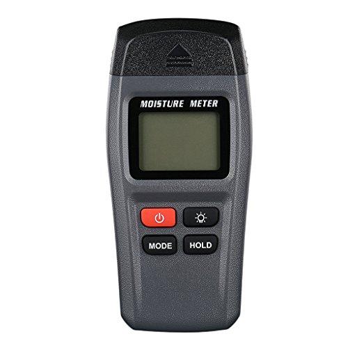 Homyl Holzfeuchtigkeitsmesser Tester Messgerät LCD-Display Feuchtigkeit Tester Detektor Holzfeuchtigkeit Messvorrichtung für Holz Wände Boden Brennholz