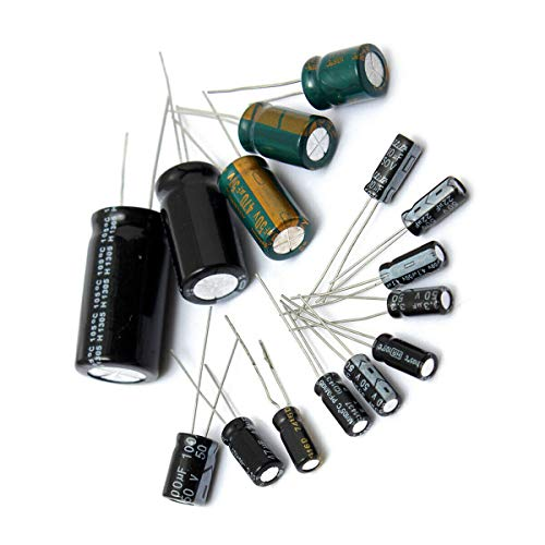 ELECTROPRIME Components Capacitor Replacement Equipment 50V 1uF-2200uF Electrolytic