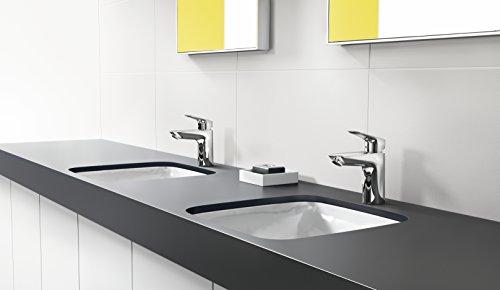 Hansgrohe – Einhebel-Waschtischarmatur, Zugstangen-Ablaufgarnitur, Chrom, Serie Logis 100 - 4