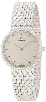 Eterna Watches Women's 5601.70.10.0000 Athena 18k White Gold Diamond Watch