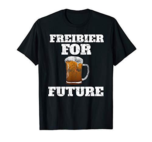 Witziges Freibier for Future Funshirt Bier Oktoberfest T-Shirt