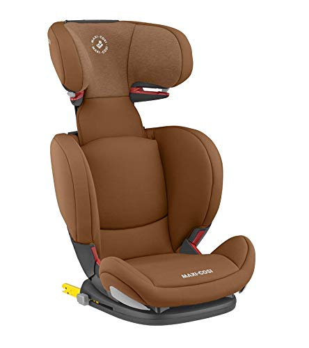 Maxi-Cosi RodiFix AirProtect Child Car Seat, Isofix Booster Seat, Cognac, 15-36 kg Maxi-Cosi Booster car seat for children from 15-36 kg (3.5 to 12 years) Grows along with your child thanks to the easy headrest and backrest adjustment from the top Patented air protect technology for extra protection of child's head 2