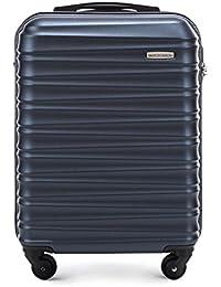 WITTCHEN Bagage à Main, Chariot, Valise, Petite   Matériel: ABS   Dimensions: 54x38x20-77x52x29 cm   Poids: 2.6-4.1 kg   Capacité: 34-96 L   Collection: Groove Line   56-3A-311-00