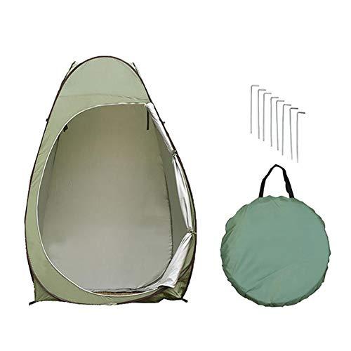 cypressen Pop up Toilettenzelt Umkleidezelt, Camping Duschzelt Beistellzelt Campingzelt Trekkingzelt Outdoor Mobile Toilette Umkleidekabine Lagerzel, Tragbar