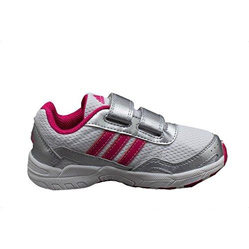 CLEASER 2 CF I GRI - Chaussures Bébé Fille Adidas Blanc