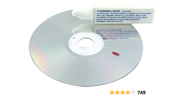 Pearl Reinigungs Cd Linsenreiniger Set Für Cd Dvd Laufwerke Und Cd Dvd Player Reinigungs Dvd Bürobedarf Schreibwaren