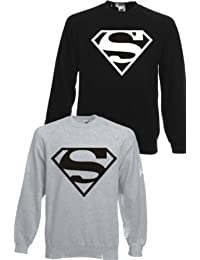 SUPERMAN ~ SWEATSHIRT ~ UNISEX SIZES S - XXXL