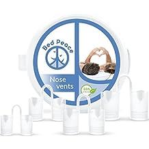 Dispositivo antironquido – dejar de roncar con este solución - dilatatores nasales antironquidos de Bedpeace – sin BPA - paquete de 4 dilatadores nasales – diferentes tamaños + funda de viaje