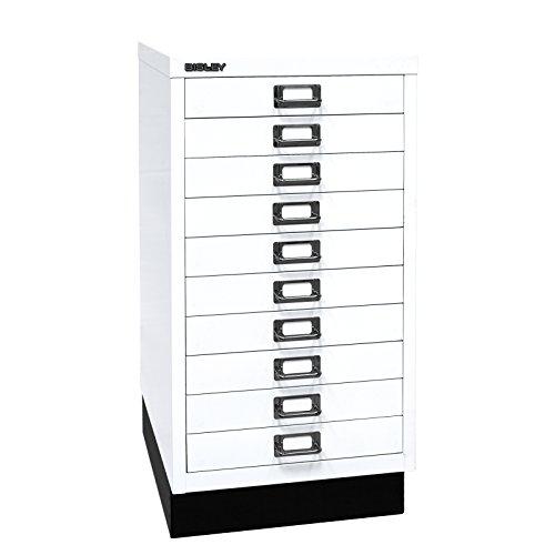 Schubladenschrank DIN A3 Farbe: Weiß