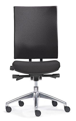 SITWELL GERNOT STEIFENSAND 41.100 Ergo Synchron-Bürostuhl mit Bandscheibensitz, Wirtschaftsmagazin, Facts Testurteil, schwarz thumbnail