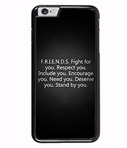 Fuson 2D Printed Quotes Designer back case cover for Apple iPhone 6S - D4539