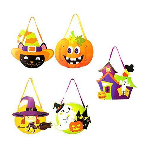 TOYANDONA Mini-Halloween-Süßigkeitenbeutel, Süßigkeitenbeutel, Geschenkbeutel, Halloween, Party-Zubehör