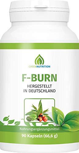 Green Nutrition | F-Burn mit Grüntee-Extrakt | 90 Kapseln - 100% Natürlich