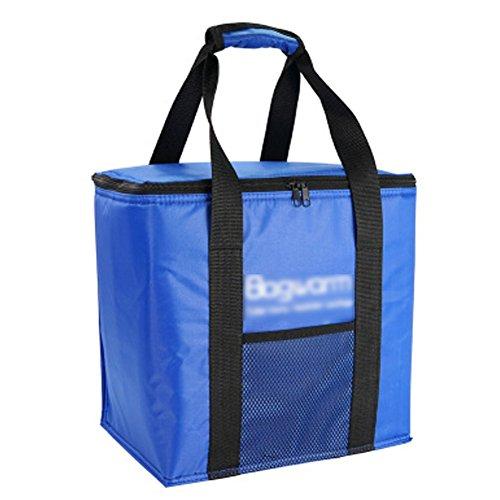 PANDA SUPERSTORE Picknick-Tasche im Freien großer weicher kühler Isolierpicknick-Mittagessen-Tasche für den Lebensmittelgeschäft, kampierend, Auto, - Tasche Mittagessen Kühler Iglu