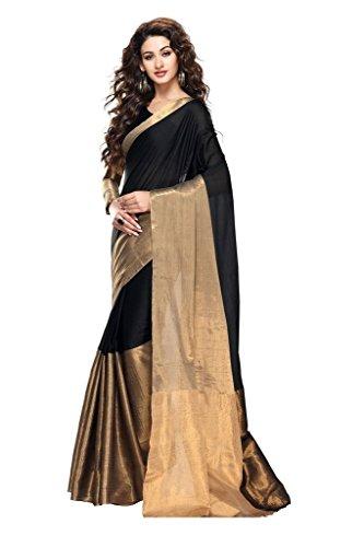 Indian Designer Saree CS Black New Collection Sarees - Saree Collection