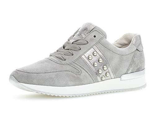 Sneaker 24.421.19, Frauen Halbschuh,Schnürschuh,Strassenschuh,Business,Freizeit,grau/Stone,40.5 EU / 7 UK ()